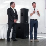 Эдриан Боссард, президент Certina, и Штефан Петер, Swatch Group RUS