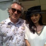 Александр Журавлев (Eurotime) и известная китайская актриса Хуо Син