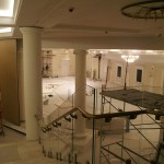 Редкие кадры: завершение реконструкции главного зала и подсобных помещений