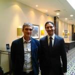 Владимир Борисов (Eurotime) и Дмитрий Дмитриев (Longines)