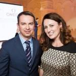 Стефан Петер, генеральный директор Swatch Group Rus, и Александра Лутц, бренд-менеджер Omega в России — with Stefan Peter and Alexandra Lutz.