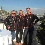 Alexander Zhuravlev (Eurotime), Patrick Zimermann (Blancpain) & Vadim Medvedev (Blancpain SGR)