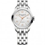Baume & Mercier CLIFTON - M0A10150 Автоподзавод, 30 мм,сталь, серебристый циферблат CLIFTON - M0A10175 Кварц, 30 мм