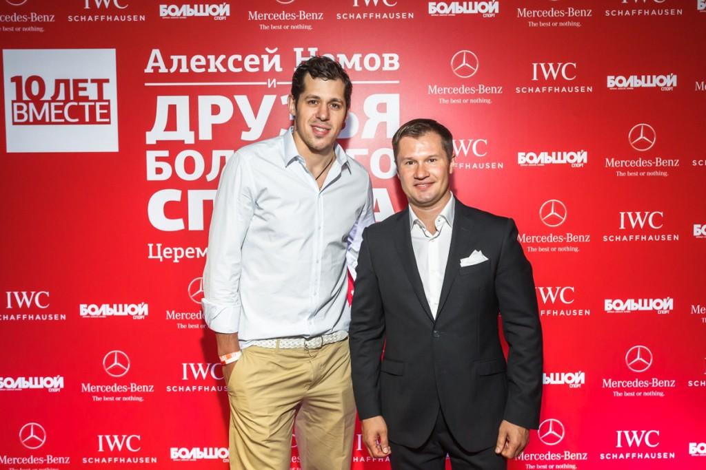 Евгений Малкин и Алексей Немов