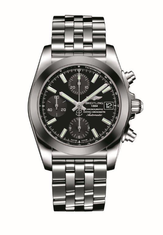 Chronomat 38 SleekT-black dial