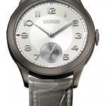 """L.Leroy """"Chronomètre Observatoire – Pièce unique Only Watch"""": алюминий, инновационный мануфактурный калибр L200 с ручным заводом, запас хода – 95 часов? 40 мм. Техническая особенность модели – спуск прямого импульса."""