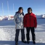 Апробация лыжных трасс перед началом соренований