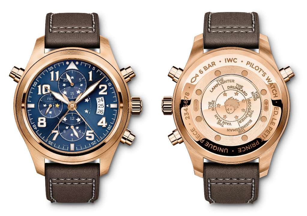 IWC Le Petit Prince IW371810 Pilot's Watch Double Chronograph