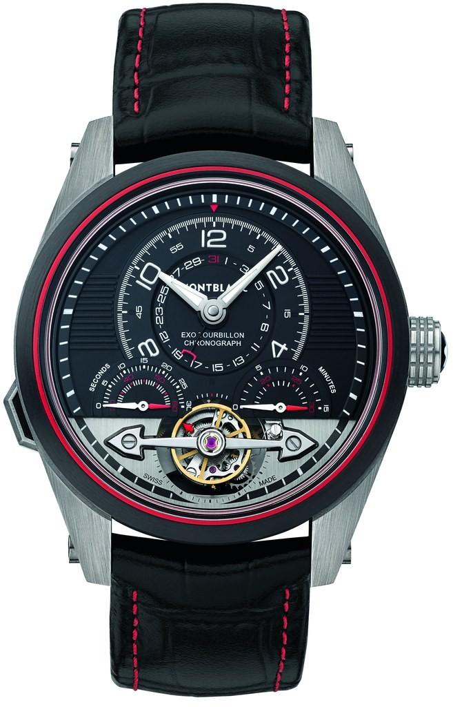 Montblanc TimeWalker ExoTourbillon Minute Chronograph Limited Edition