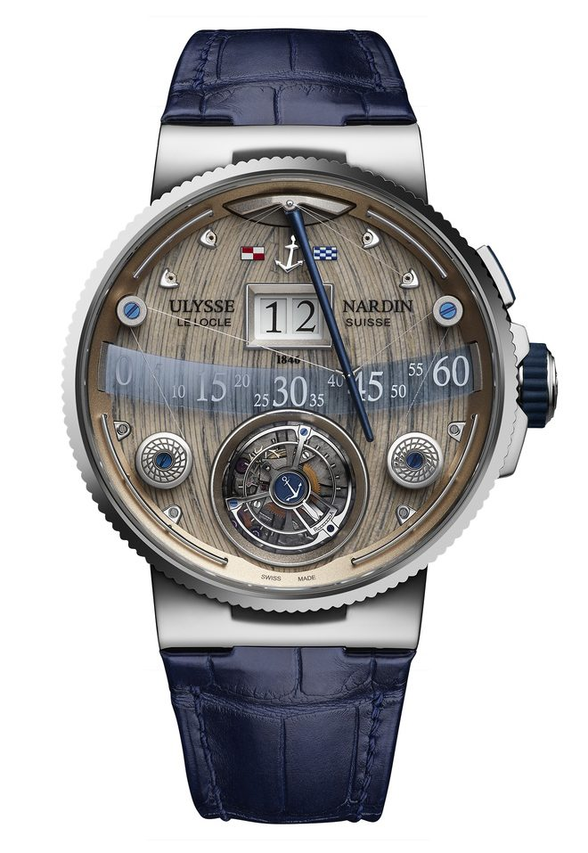 Ulysse Nardin Grand Deck Marine Tourbillon