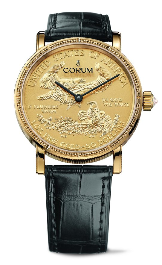 Corum Heritage Artisans Coin Watch 082.645.56/0001 MU52