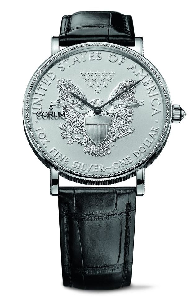 Corum Heritage Artisans Coin Watch 082.645.01/0001 MU53