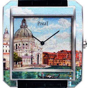 "Piaget Protocole XXL ""Secrets & Lights"" Venice Micro-Mosaic"