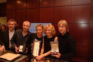 Александр Журавлев (Eurotime), Ингеборга Дапкунайте и звёзды фигурного катанис Longines Awards for Elegance - часами Longines