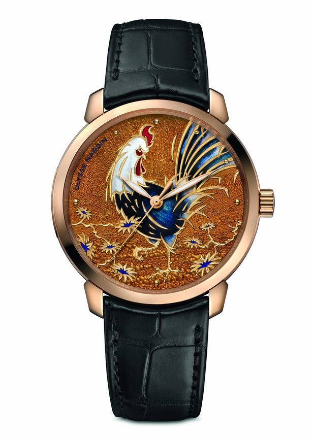 Часы Ulysse Nardin Year of the Rooster 8152-111-2/ROOSTER