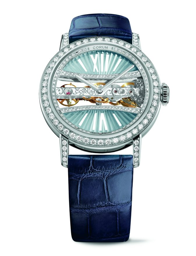 Corum Lady Golden Bridge Round 39mm B113/03169