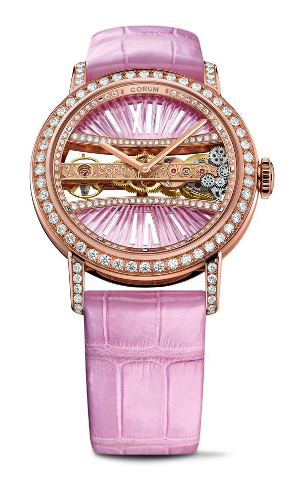 Corum Lady Golden Bridge Round 39mm B113/03200