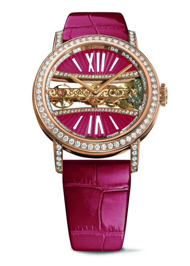 Corum Lady Golden Bridge Round 39mm B113/03277