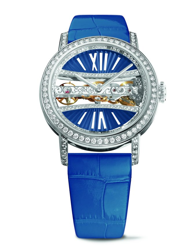 Corum Lady Golden Bridge Round 39mm B113/03278