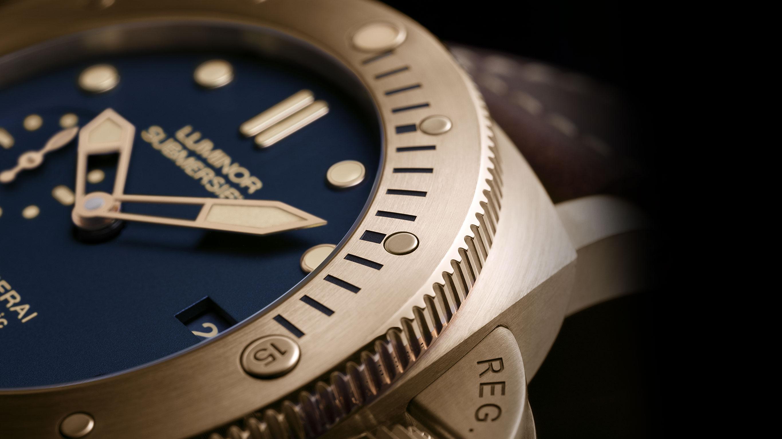 Часы Panerai Luminor Submersible 1950 3 Days Automatic Bronzo 47 mm (Арт. PAM00671)