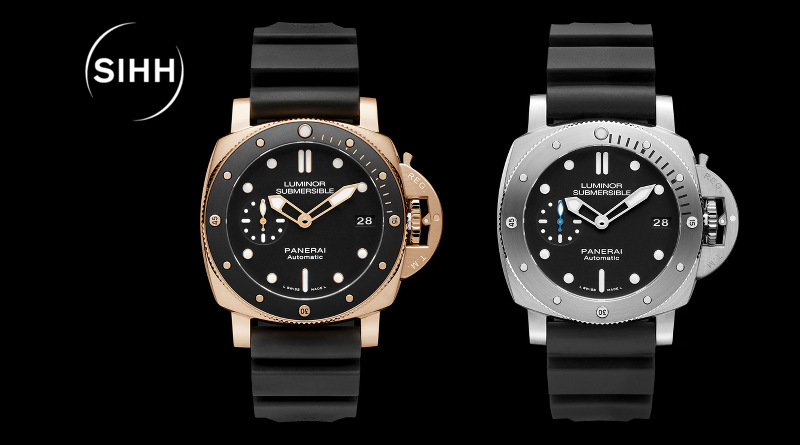 Panerai Luminor Submersible 1950 3 Days Automatic 42mm в стали и розовом золоте