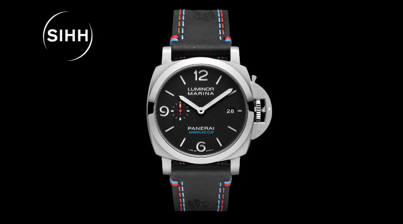 SIHH-2017 Panerai Luminor Marina 1950 America's Cup 3 Days Automatic