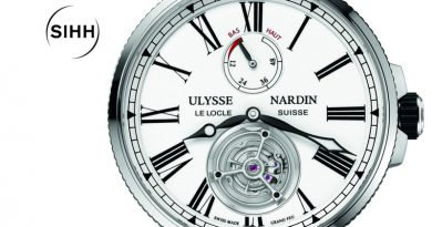 Ulysse Nardin Marine Tourbillon Grand Feu