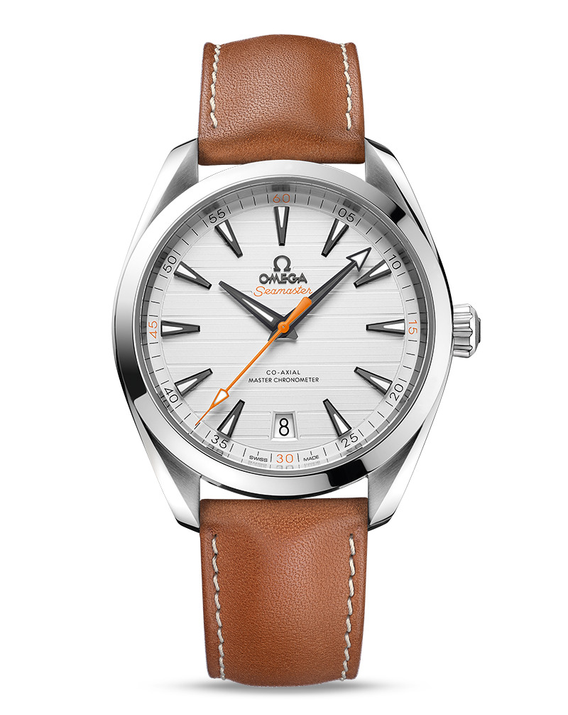 OMEGA Seamaster Aqua Terra 150m Master Chronometer 220.12.41.21.02.002 Сталь, автоподзавод, 41 мм, 150 м