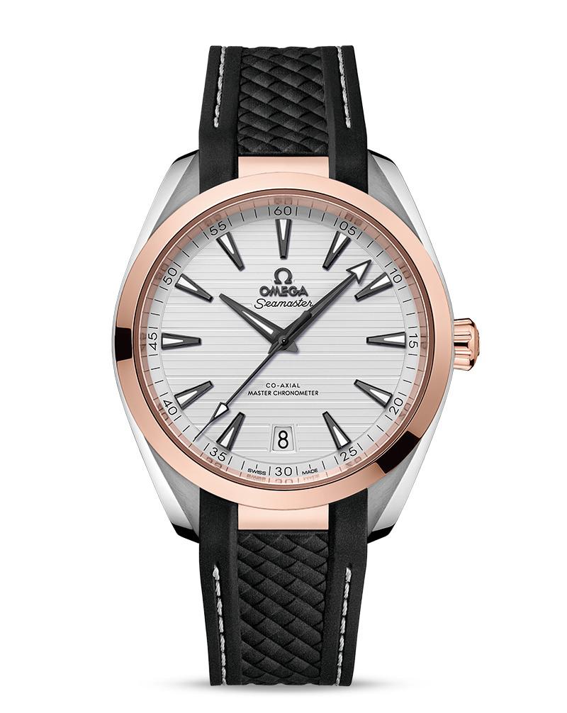 OMEGA Seamaster Aqua Terra 150m Master Chronometer 220.22.41.21.02.001 Сталь и 18К розовое золото, автоподзавод, 41 мм, 150 м.
