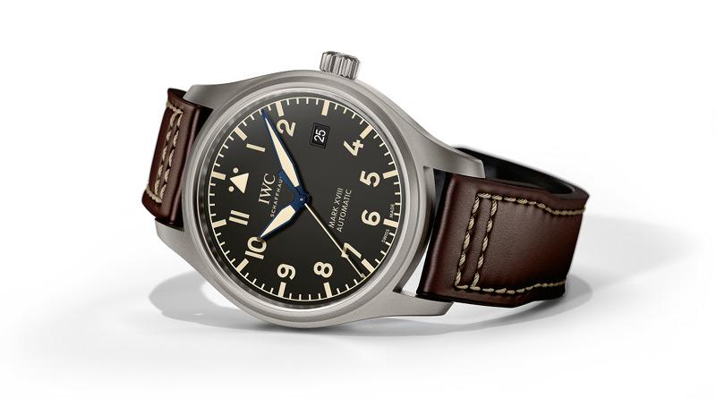 Три новые модели от IWC Schaffhausen. Часть 3 — Pilot's Watch Mark XVIII Heritage IW327006.