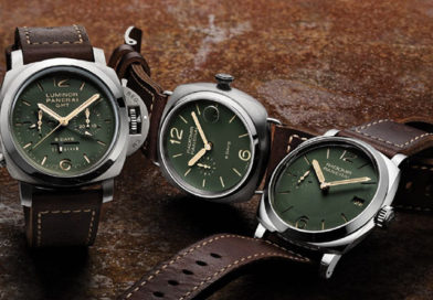 Три новых Panerai с темно-зеленым циферблатом (PAM00735, PAM00736, PAM00737)