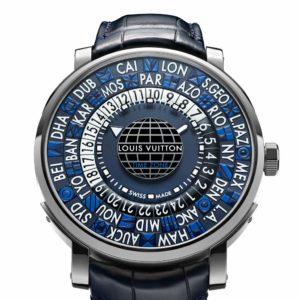 Louis Vuitton Escale Time Zone Blue