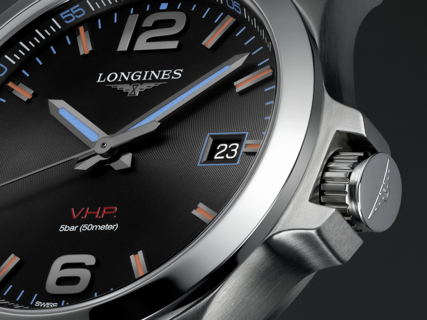 Longines Conquest V.H.P. Gold Coast 2018 Commonwealth Games L3.726.4.99.6