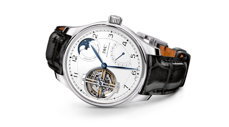 Pre-SIHH 2018: IWC Portugieser Constant-Force Tourbillon Edition «150 Years» (IW590202). 27 часовых шедевров к 150-летию IWC.