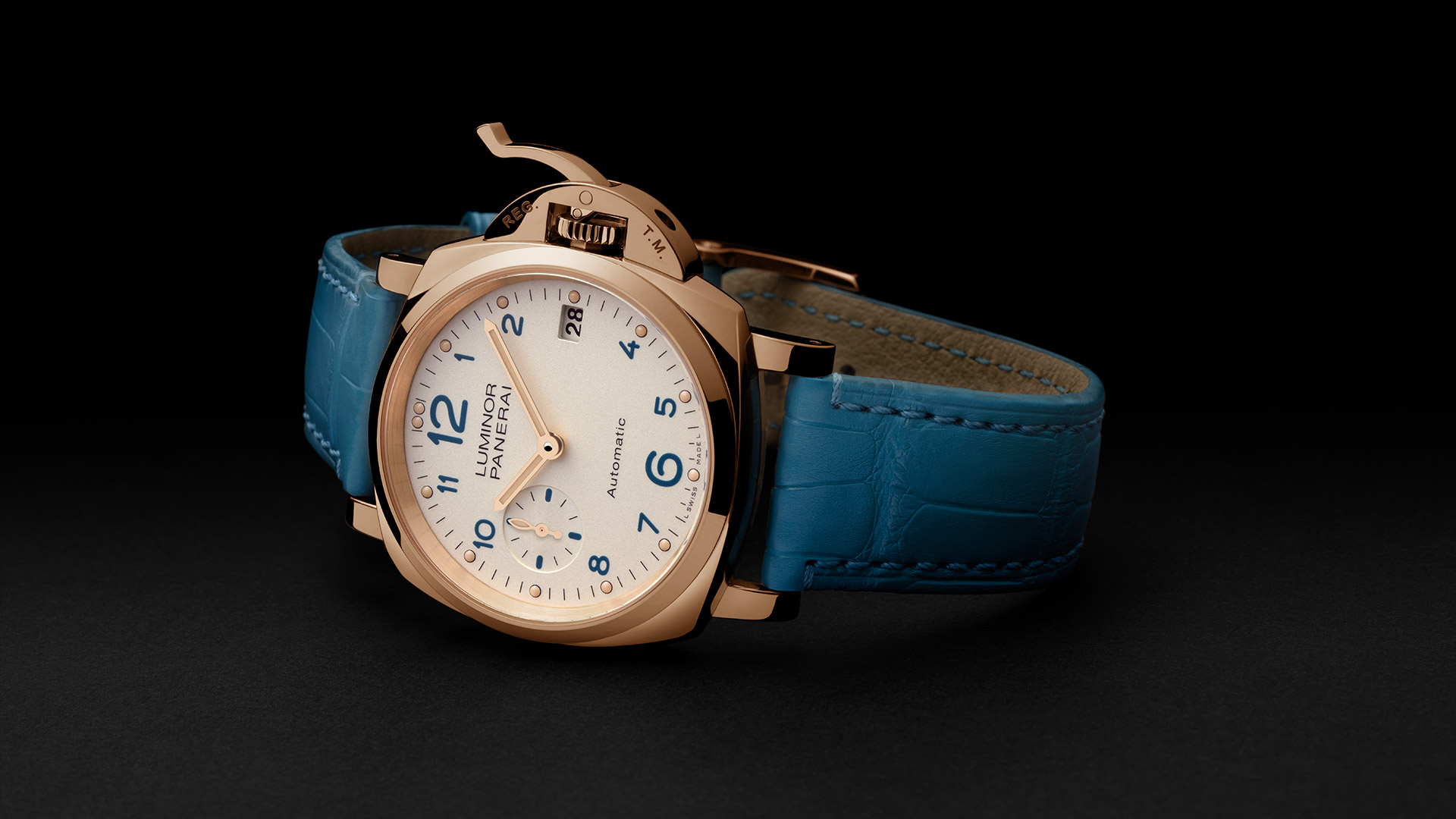 PANERAI LUMINOR DUE 3 DAYS AUTOMATIC ORO ROSSO 38 ММ PAM00756