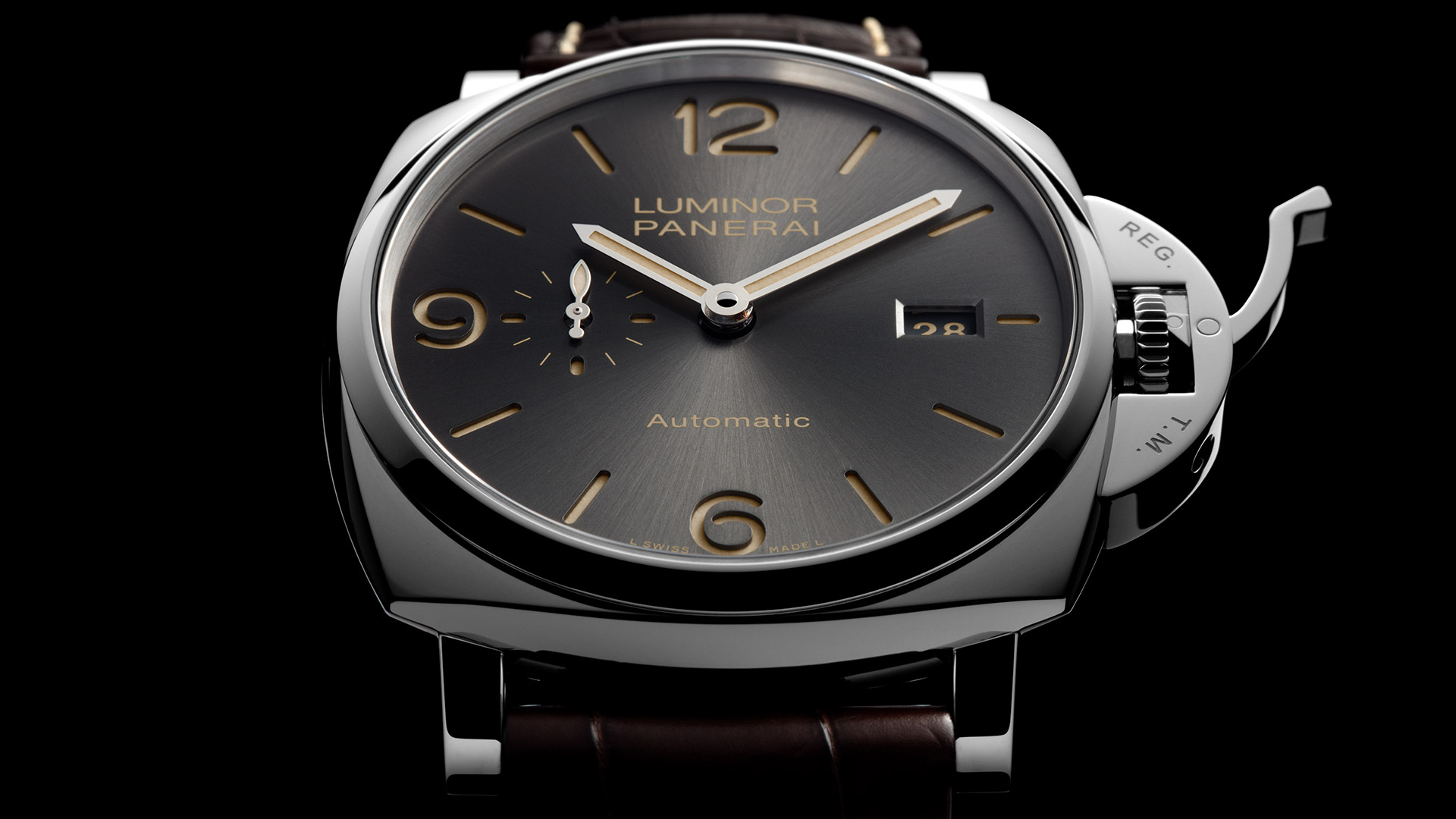 PANERAI LUMINOR DUE 3 DAYS AUTOMATIC ACCIAIO 45MM PAM00943