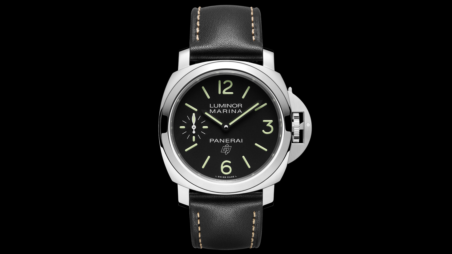Panerai Luminor Marina Logo 3 Days Acciaio - 44mm. PAM00776