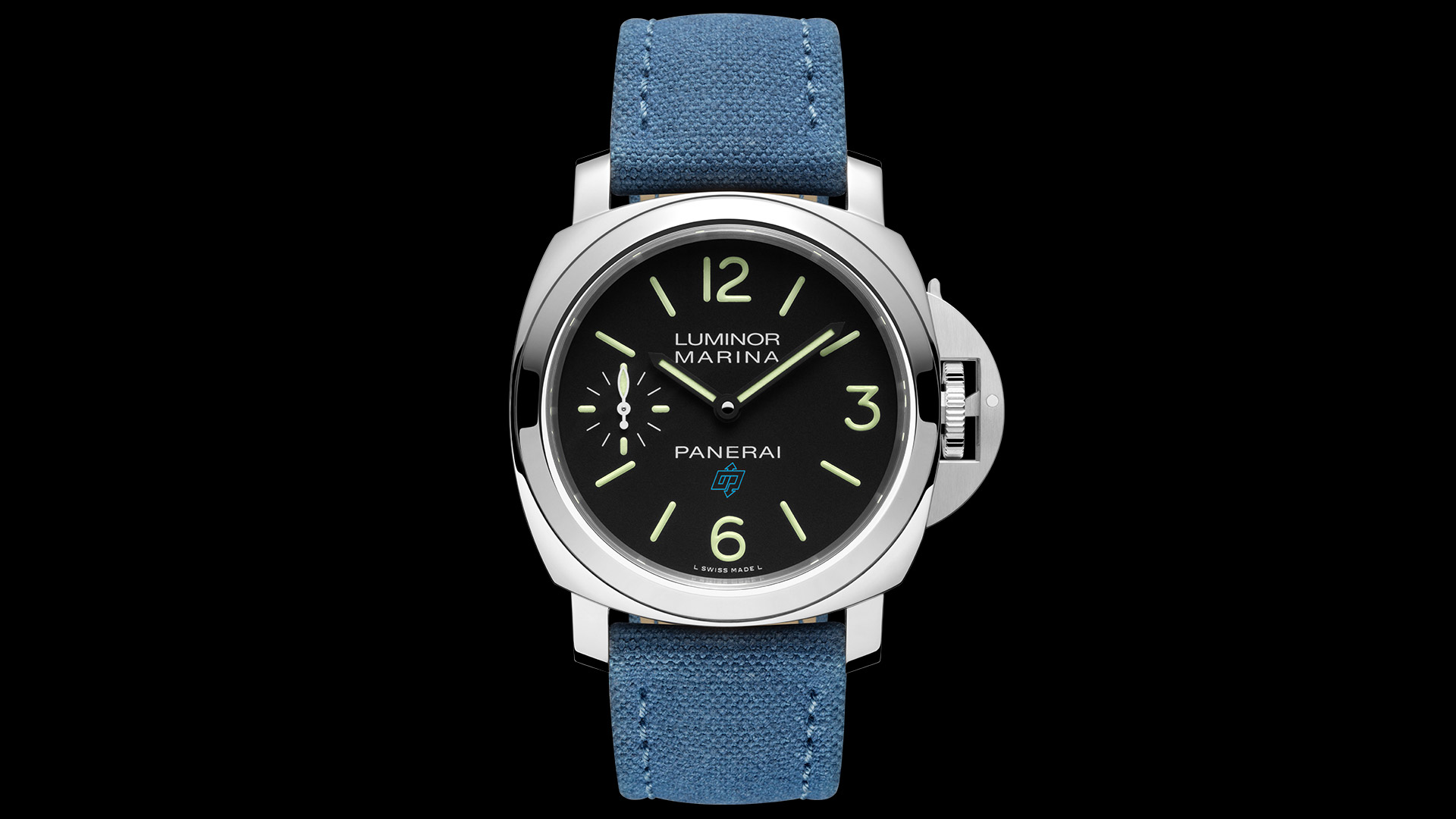 Panerai Luminor Marina Logo 3 Days Acciaio - 44mm. PAM00777