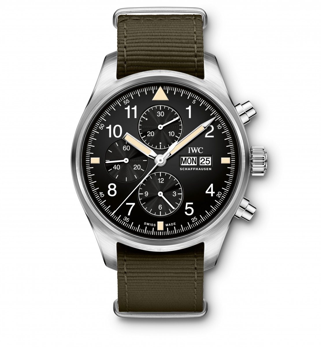 IWC Pilot's Watch Chronograph IW377724. Автоподзавод, сталь, 43 мм, 60 м.