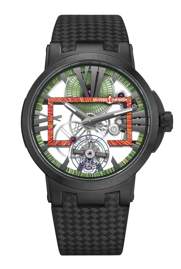 Ulysse Nardin Executive Skeleton Tourbillon Hyperspace 1713-139LE/HYPERSPACE