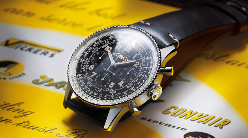Baselworld 2019: BREITLING NAVITIMER REF. 806 1959 RE-EDITION