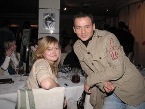 Надежда Михалкова и Александр Олешко