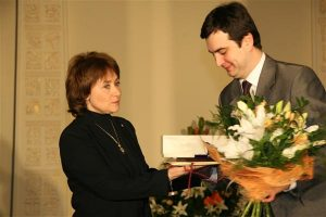 Лауреат премии Марина Дмитревска