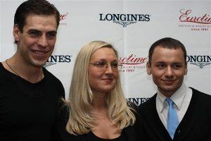 Дмитрий Дюжев, Екатерина Коновалова и Александр Олешко