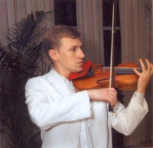 Участник музыкального вечера