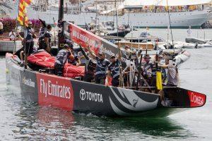 Emirates Team New Zealand выходит на старт