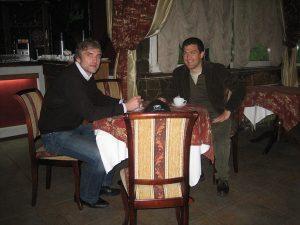Владимир Борисов (Eurotime) и Мишель Шеваль (IWC)