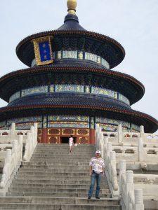Одна из главных достопримечательностей Пекина - Храм Неба