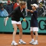 Мастер-класс от легенды тенниса Штефи Граф
