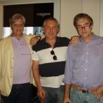 Сергей Кузнецов (Da Vinci), Александр Журавлев и Владимир Борисов (Eurotime)